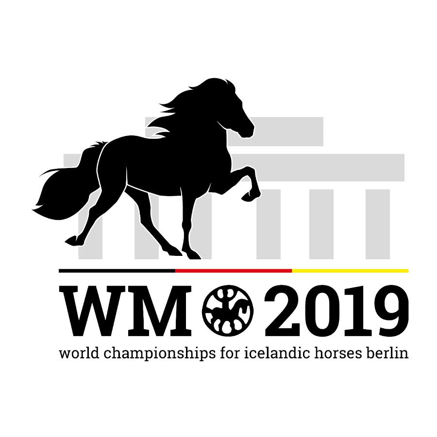 Logo Islandpferde WM 2019